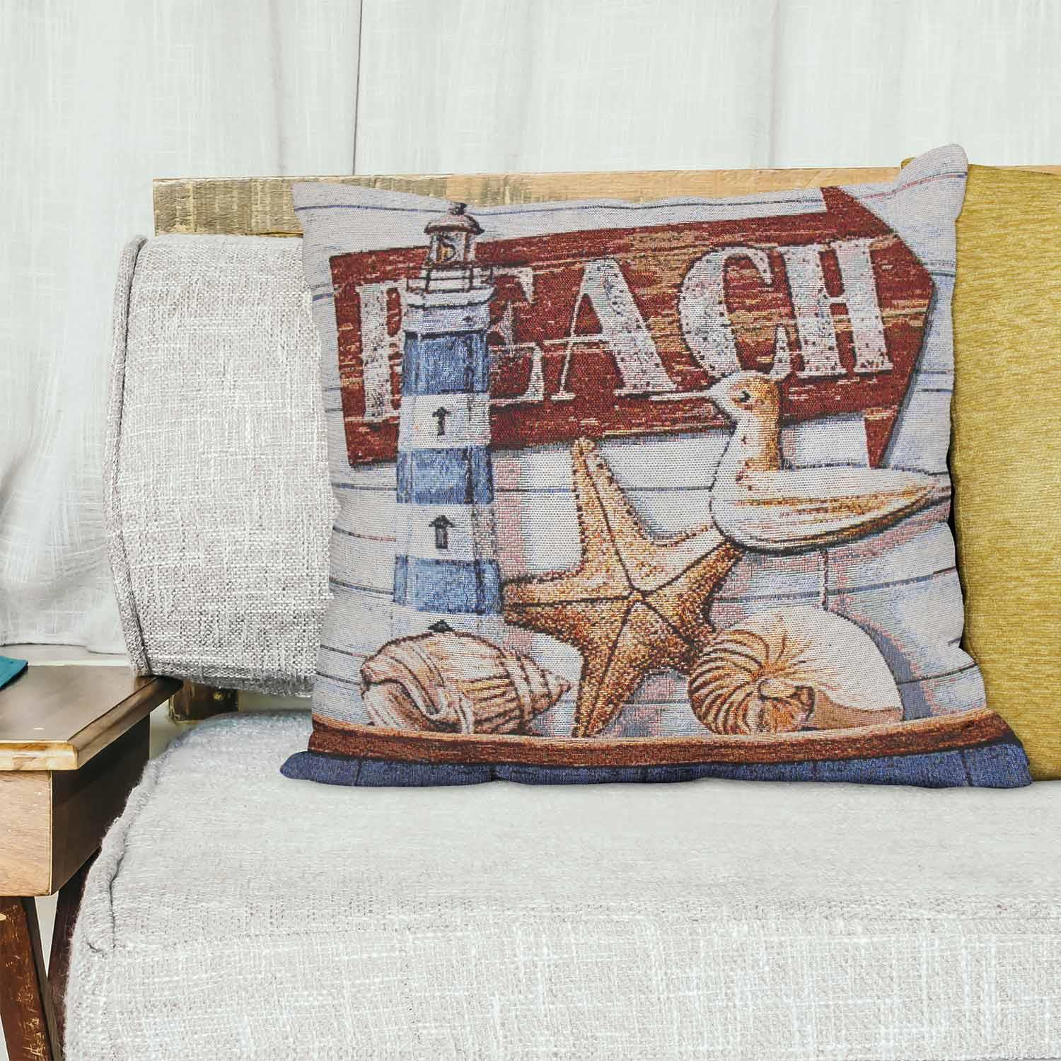 Tapestry-Cushion-Covers-Vintage-Pillow-Cover-Collection-18-034-45cm-Filled-Cushions thumbnail 11