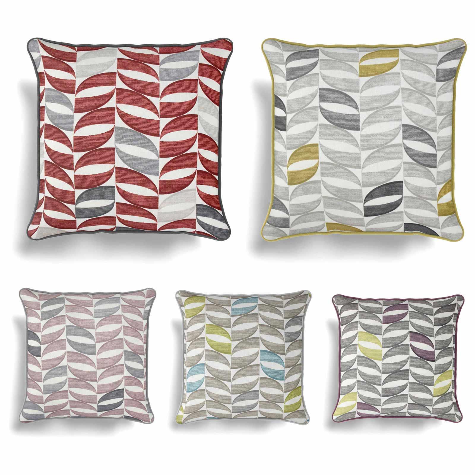 "Copeland Cushion Cover Modern Geometric Printed Cotton Covers 17/"" x 17/"""