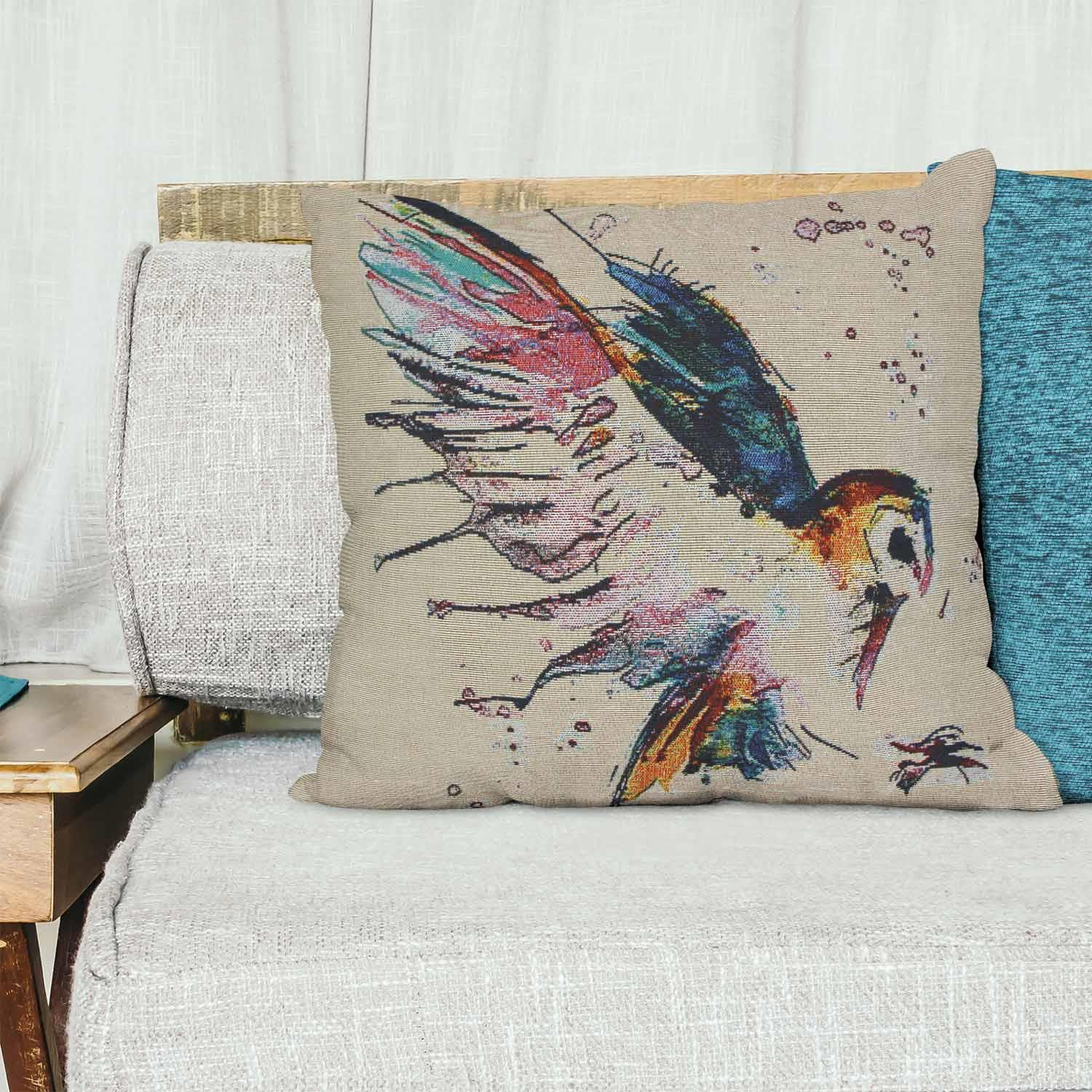 Tapestry-Cushion-Covers-Vintage-Pillow-Cover-Collection-18-034-45cm-Filled-Cushions thumbnail 6