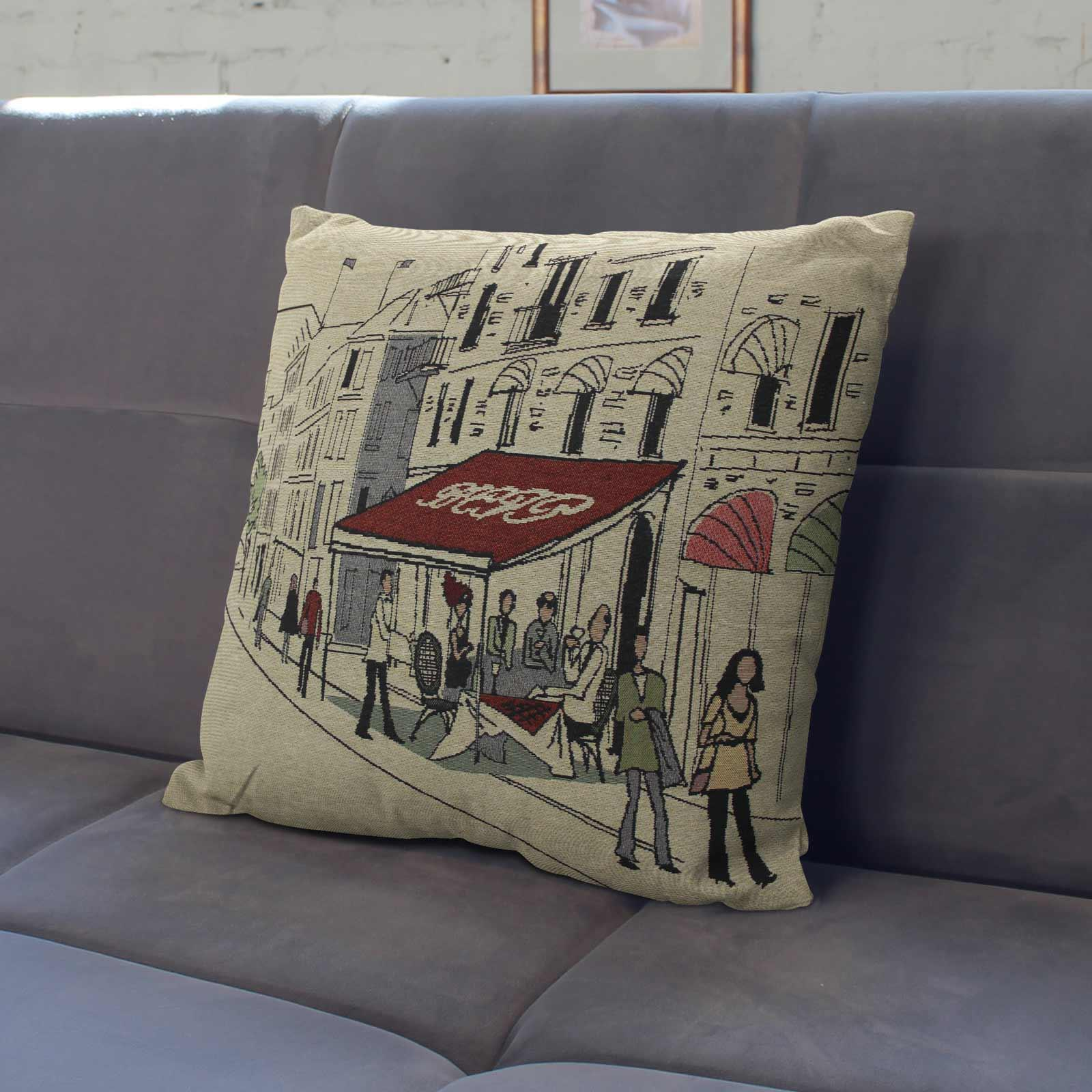 Tapestry-Cushion-Covers-Vintage-Pillow-Cover-Collection-18-034-45cm-Filled-Cushions thumbnail 203