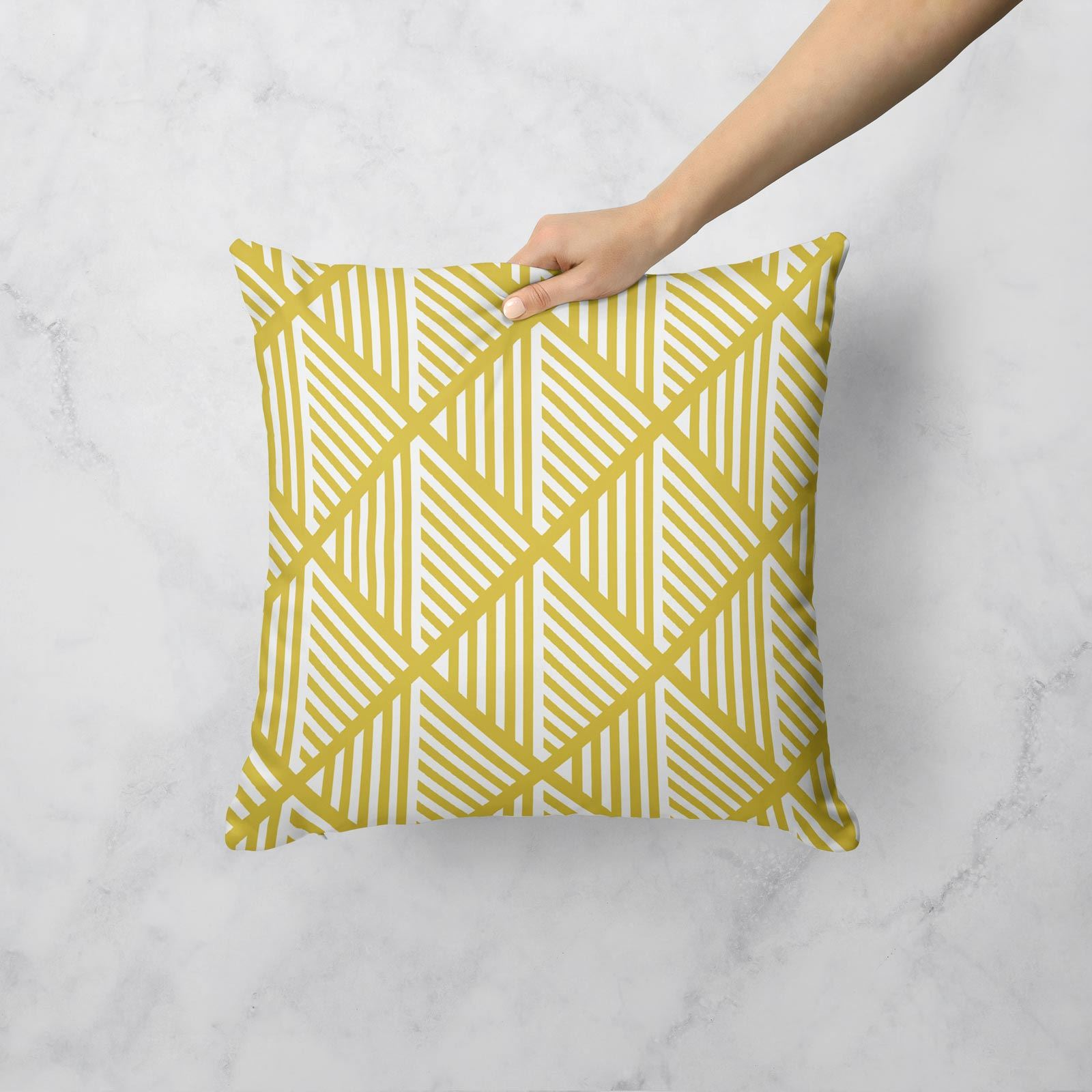 Grey-Ochre-Mustard-Cushion-Cover-Collection-17-034-18-034-Covers-Filled-Cushions thumbnail 42