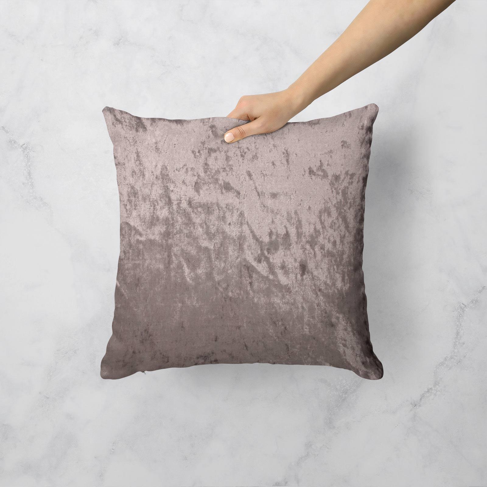 Cuscino-di-velluto-schiacciato-copre-GLAM-Tinta-Unita-Copricuscino-18-034-x-18-034-45cm-x-45cm miniatura 48