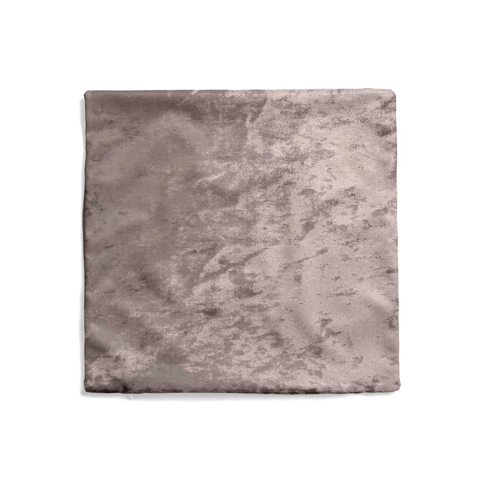 Cuscino-di-velluto-schiacciato-copre-GLAM-Tinta-Unita-Copricuscino-18-034-x-18-034-45cm-x-45cm miniatura 46