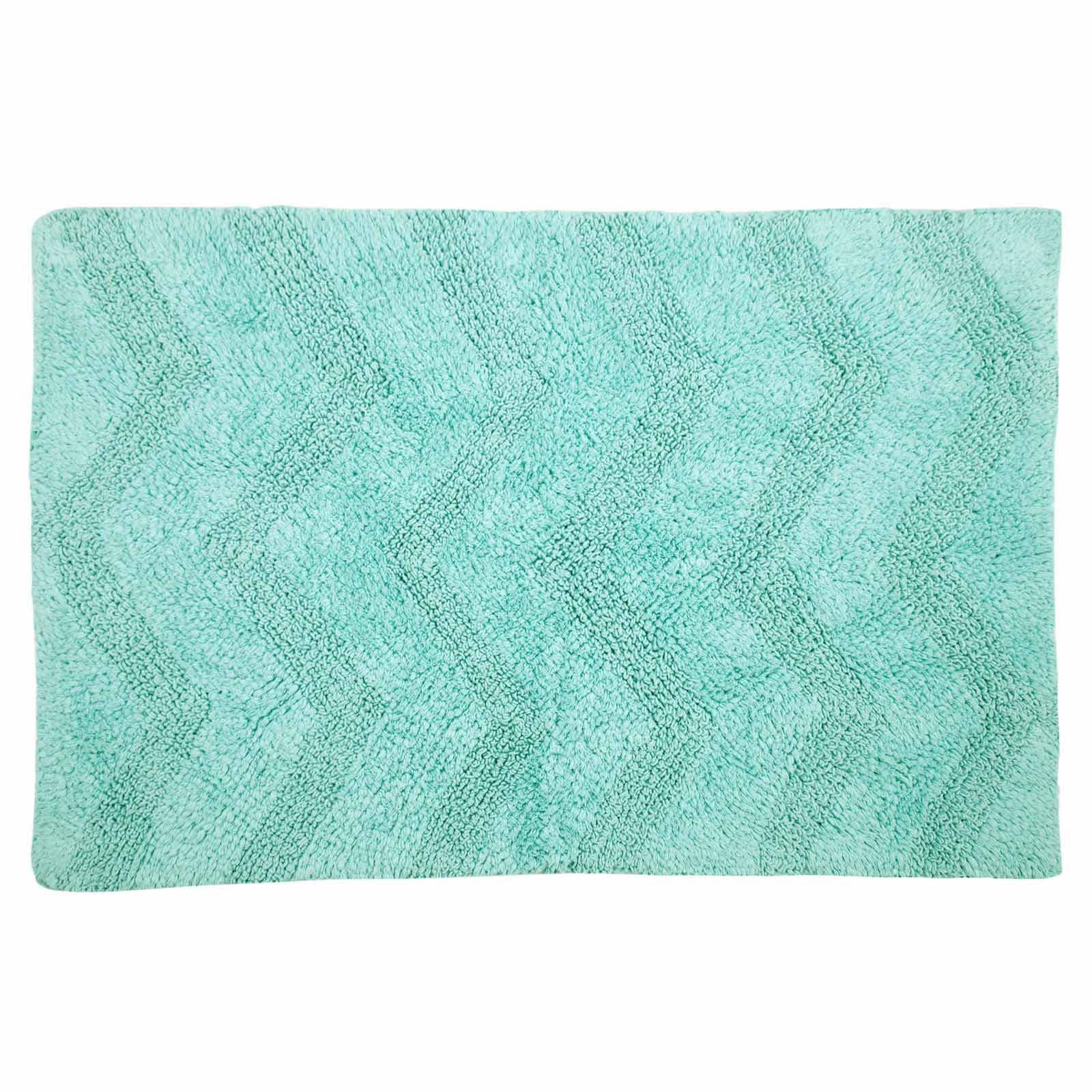 Chevron 100 Cotton Modern Bath Mat Luxury Shower Mats