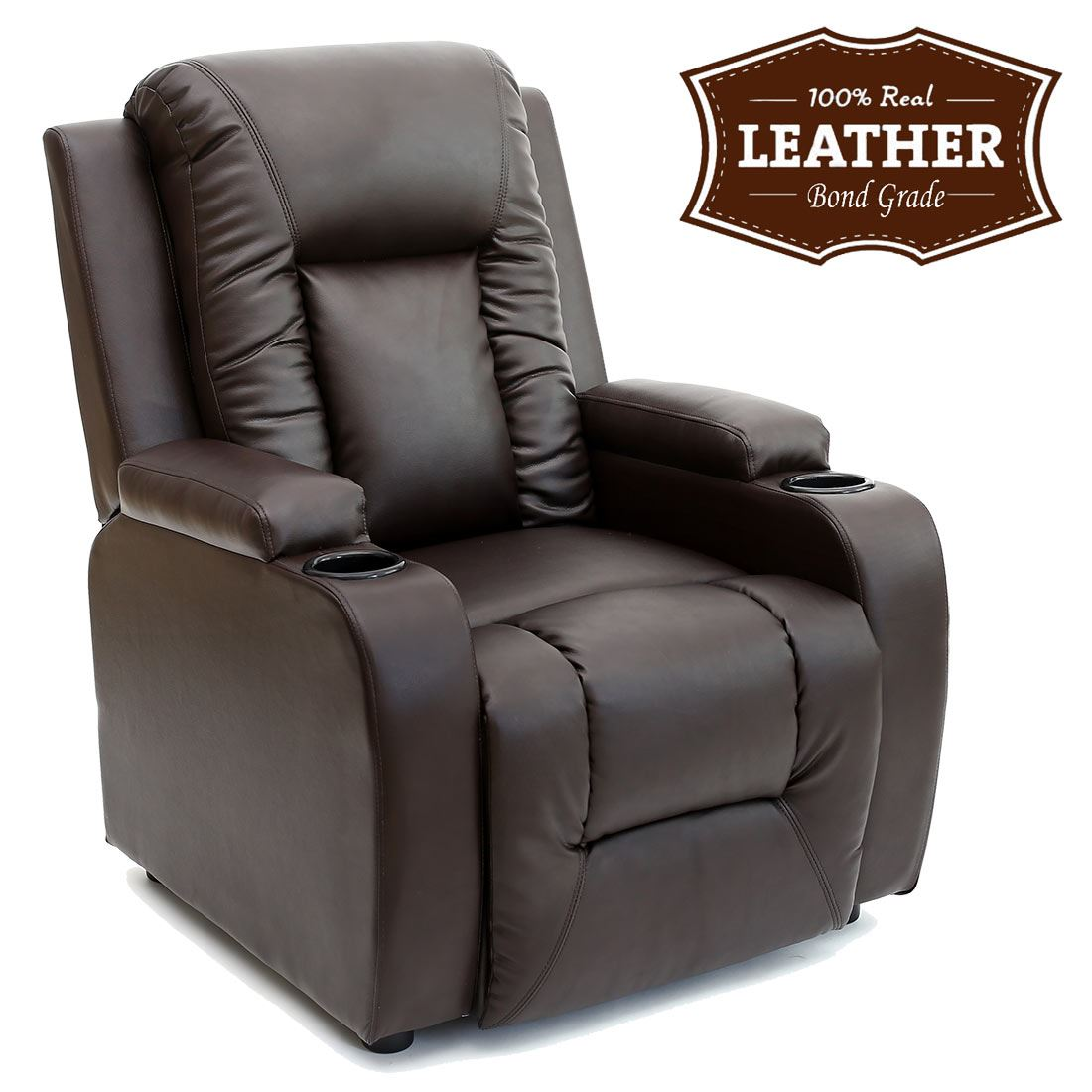 recliners taupe products brown adelino grayish leather home recliner crawford cindy contemporary