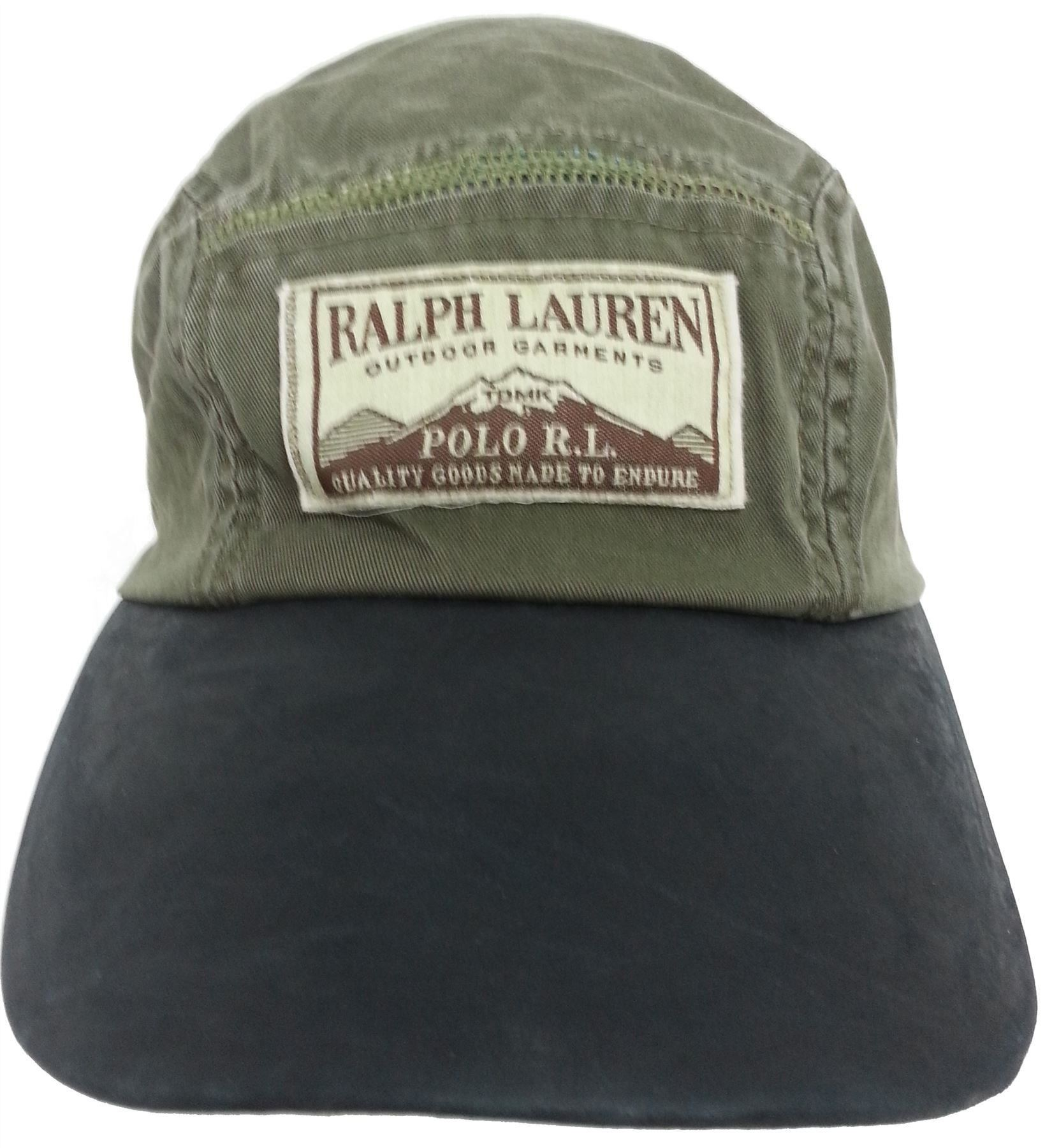 polo ralph lauren olive green outdoor garments polo rl adult baseball cap ebay. Black Bedroom Furniture Sets. Home Design Ideas