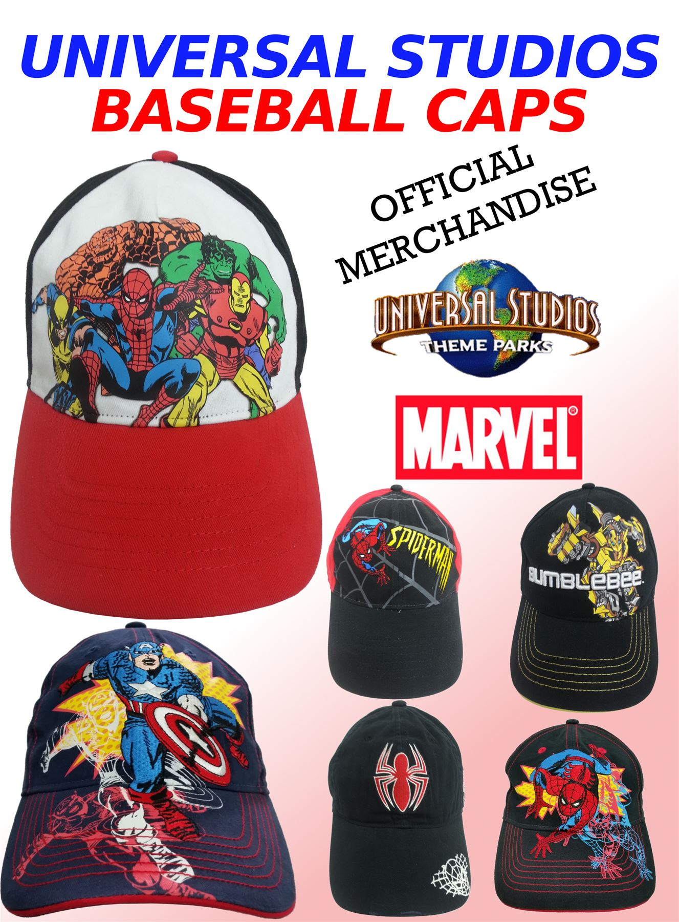 4556450178b ... coupon code for marvel super heros adult baseball caps spiderman cpt  24445 6f3f6