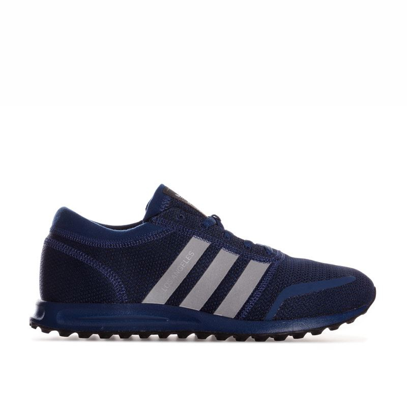ADIDAS LOS ANGELES SCARPE ORIGINALS SNEAKER BLUE SILVER bb1128 TRAINER Flux ZX
