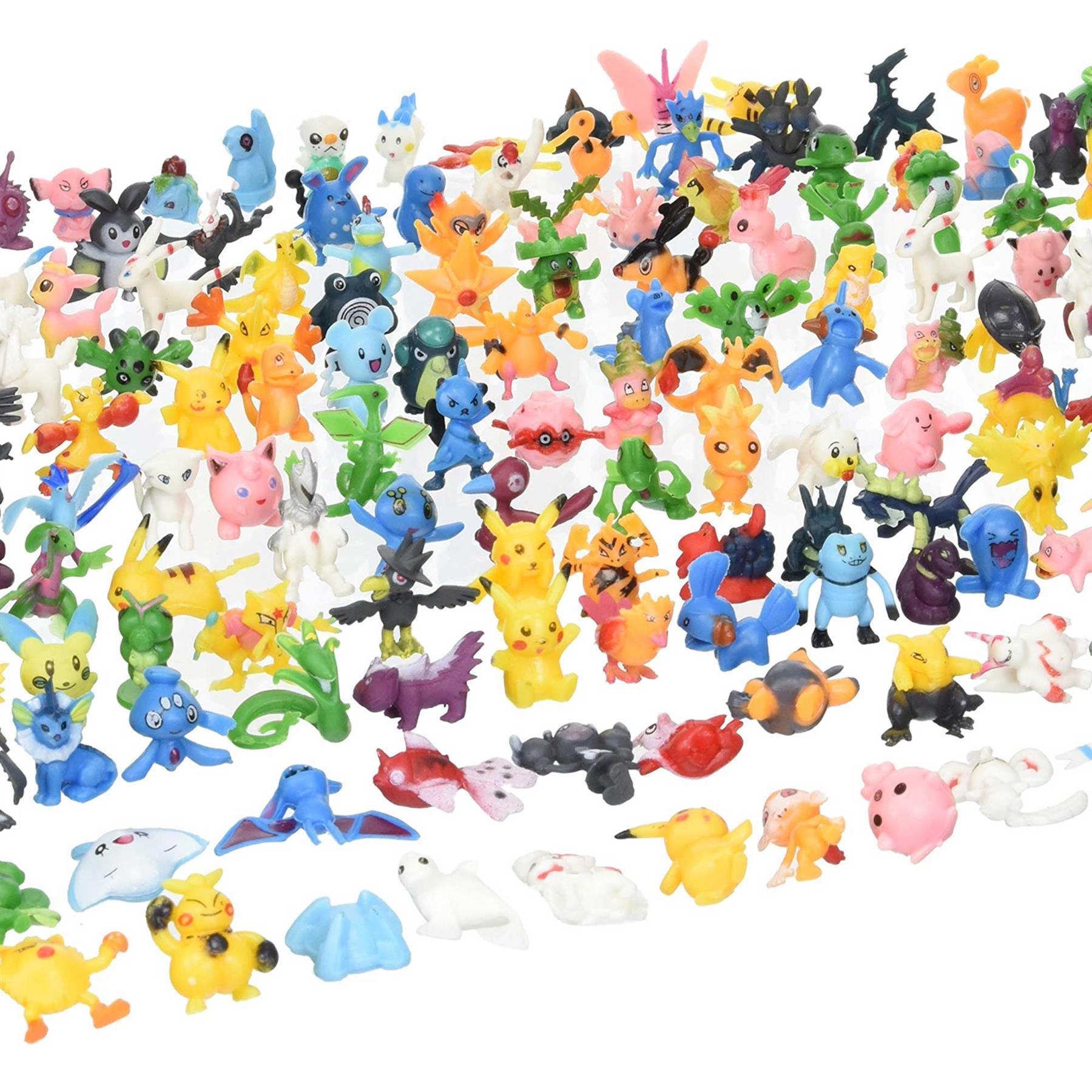 12pcs Mini Dragon Toys Assorted 3 To 4 cm action figures Birthday Cake Topper