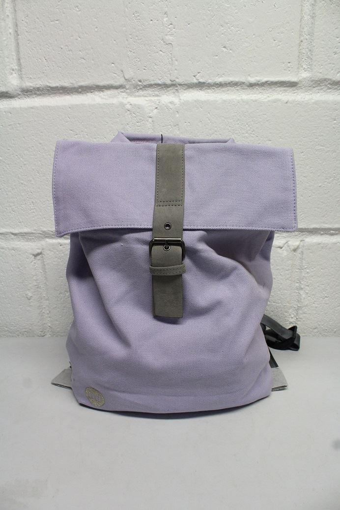 95c351414b Mi-Pac Canvas Day Backpack, Lilac 5060529040166 | eBay