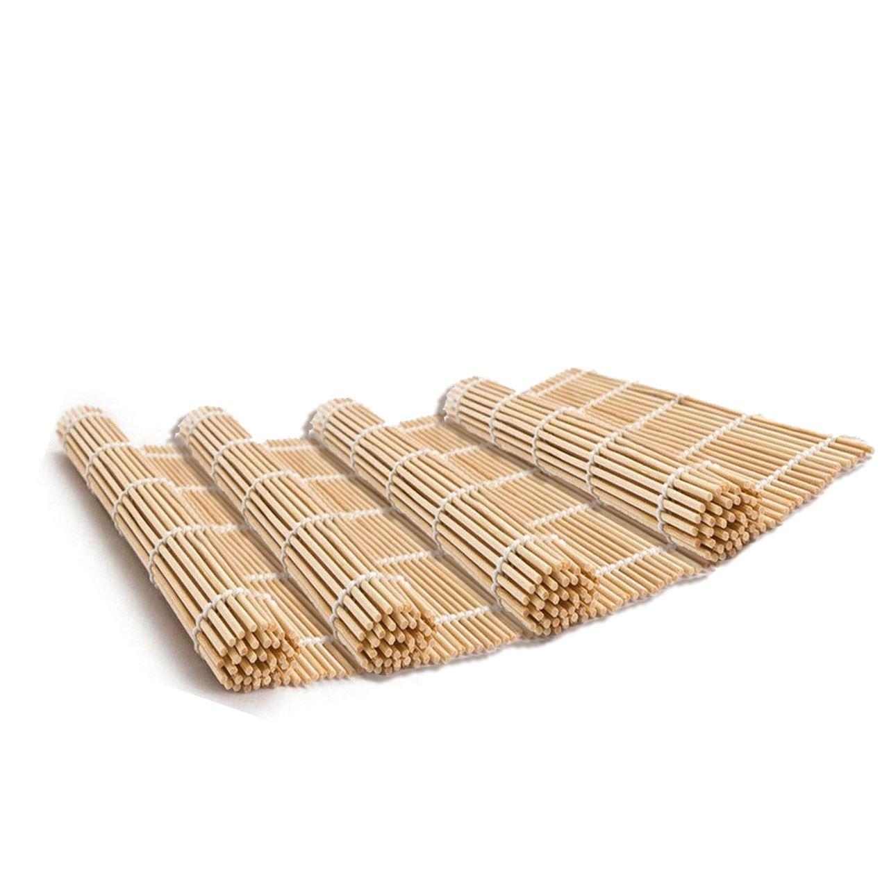 2 4 8 Oriental Japonais Sushi Roll Maker Riz Rouleau Bambou Rolling Mat napperon