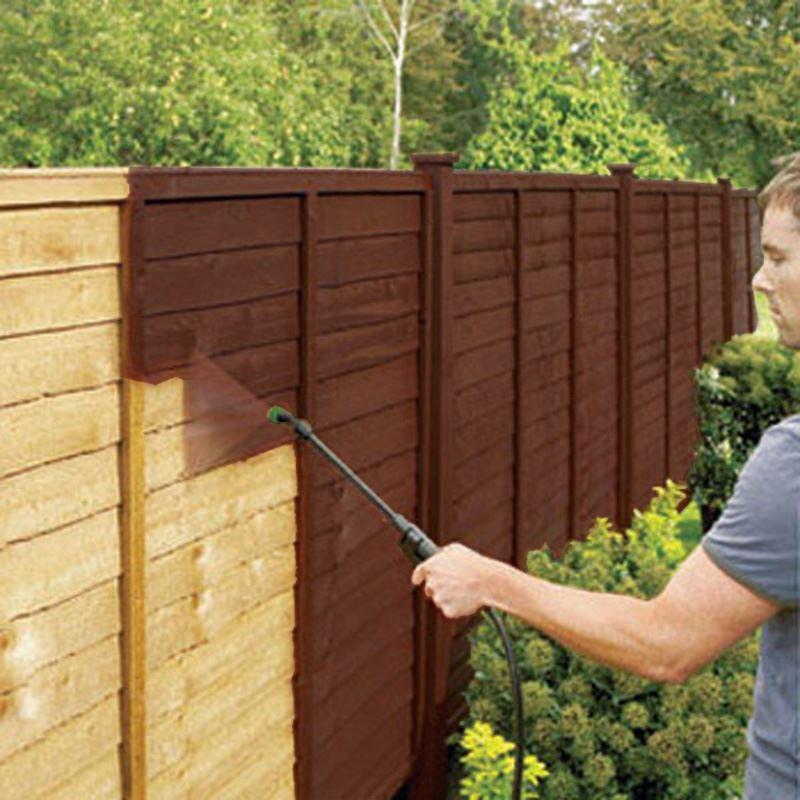 5l Sprayable Timbercare Pressure Sprayer Garden Timber