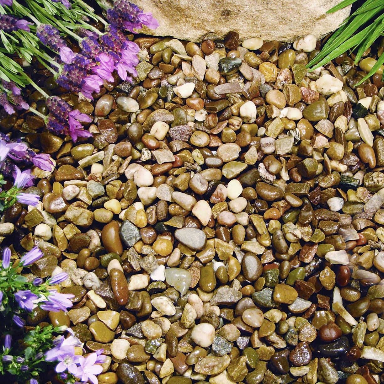 Best Image Of Garden Woodimages Co: 1 To 30kg Gravel Chippings Deter Weed Garden Path Patio