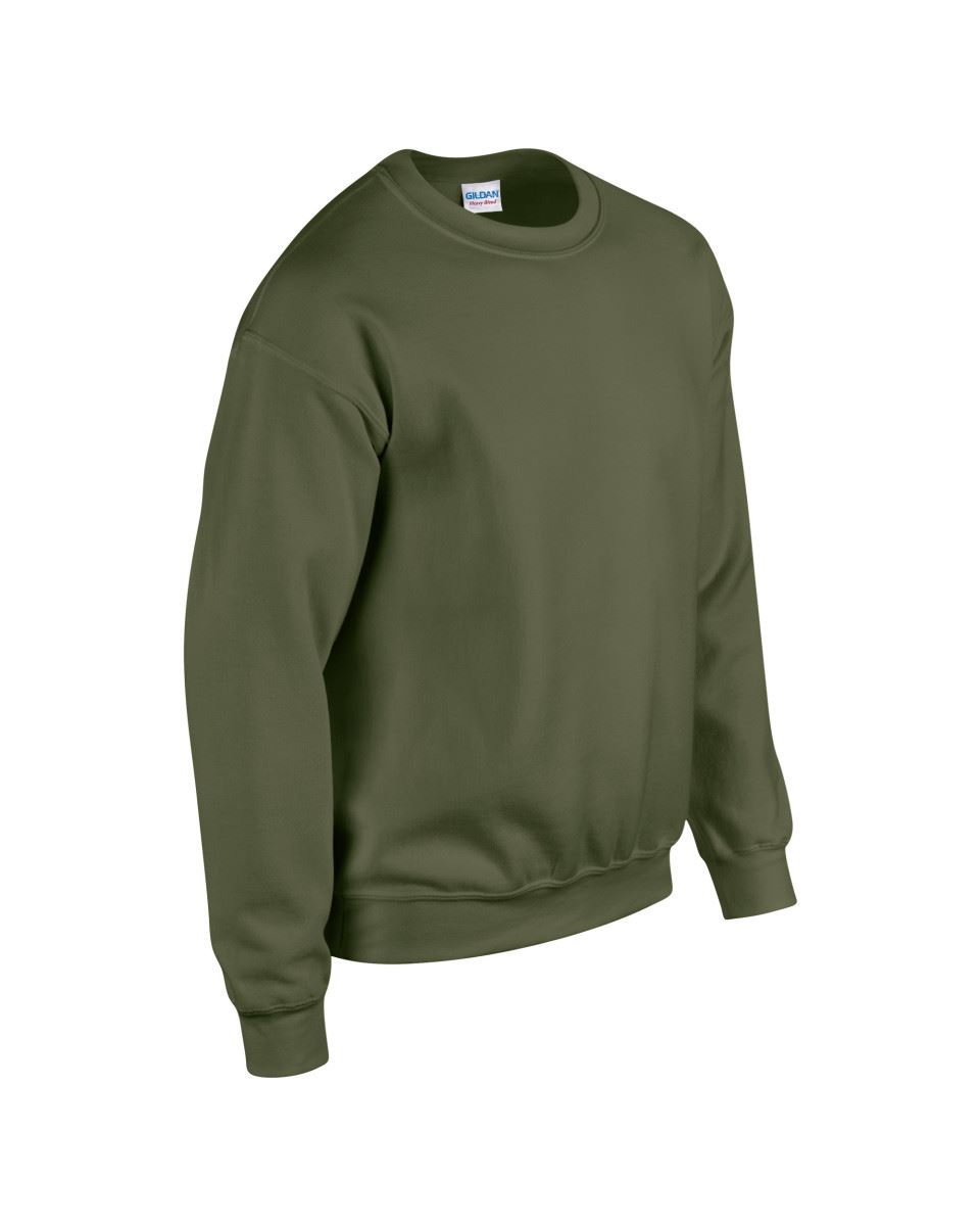 Gildan-Heavy-Blend-Adult-Crew-Neck-Pullover-Sweatshirt-Sweater-Workwear-Uniform thumbnail 125
