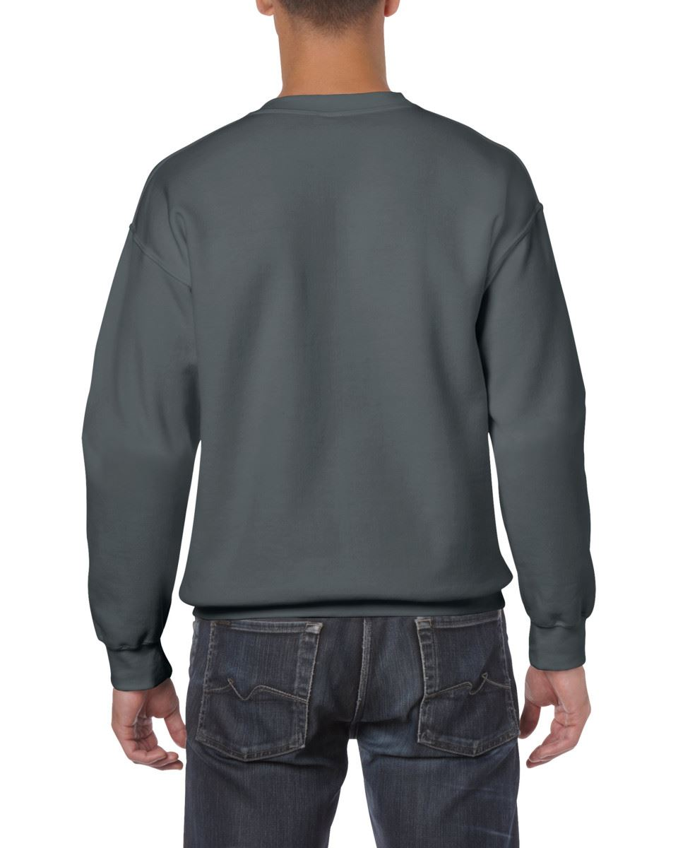Gildan-Heavy-Blend-Adult-Crew-Neck-Pullover-Sweatshirt-Sweater-Workwear-Uniform thumbnail 51