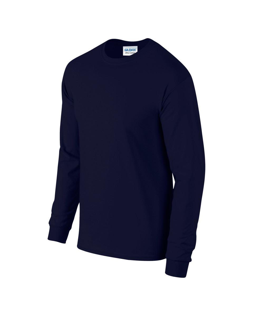 Gildan-Mens-Ultra-Cotton-Adult-Long-Sleeve-Plain-T-Shirt-Tshirt-Cotton-Tee-Shirt thumbnail 21