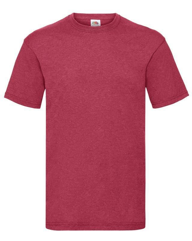 Fruit-Of-The-Loom-Mens-Womens-Valueweight-Plain-Crew-Neck-T-Shirt-Tee-Cotton thumbnail 171