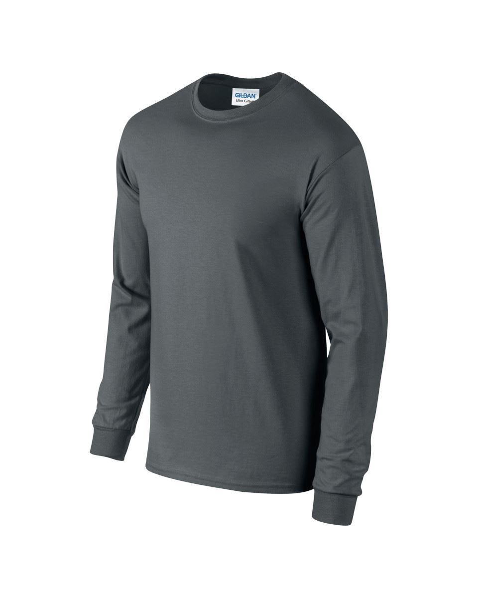 Gildan-Mens-Ultra-Cotton-Adult-Long-Sleeve-Plain-T-Shirt-Tshirt-Cotton-Tee-Shirt thumbnail 51