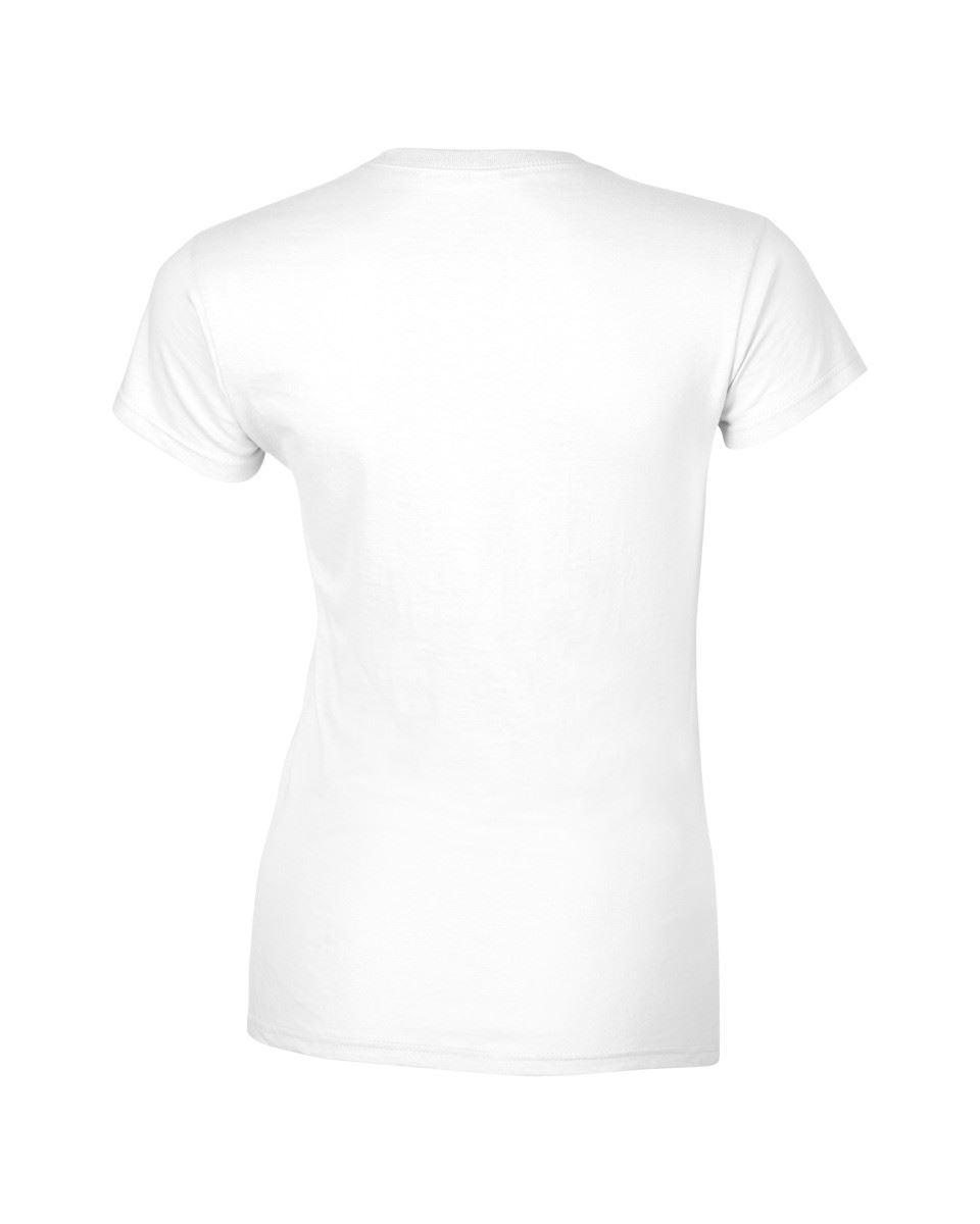 Gildan-Womens-Ladies-Soft-Style-Plain-V-Neck-T-Shirt-Cotton-Tee-Tshirt thumbnail 5