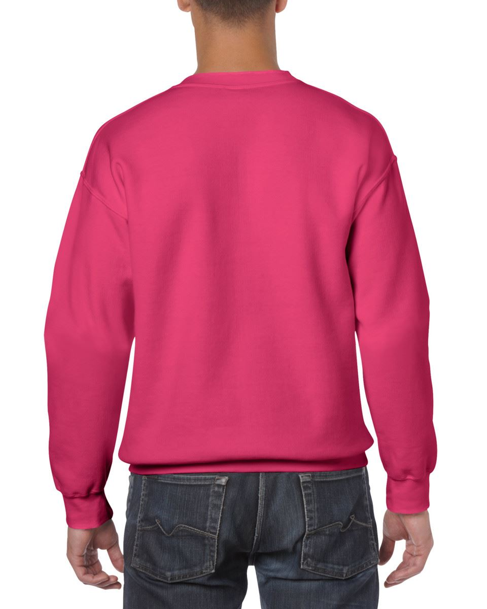 Gildan-Heavy-Blend-Adult-Crew-Neck-Pullover-Sweatshirt-Sweater-Workwear-Uniform thumbnail 93