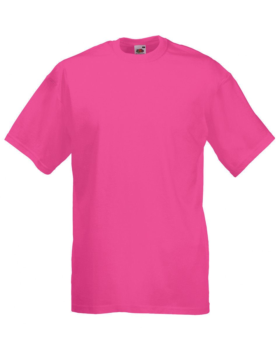 Fruit-Of-The-Loom-Mens-Womens-Valueweight-Plain-Crew-Neck-T-Shirt-Tee-Cotton thumbnail 67