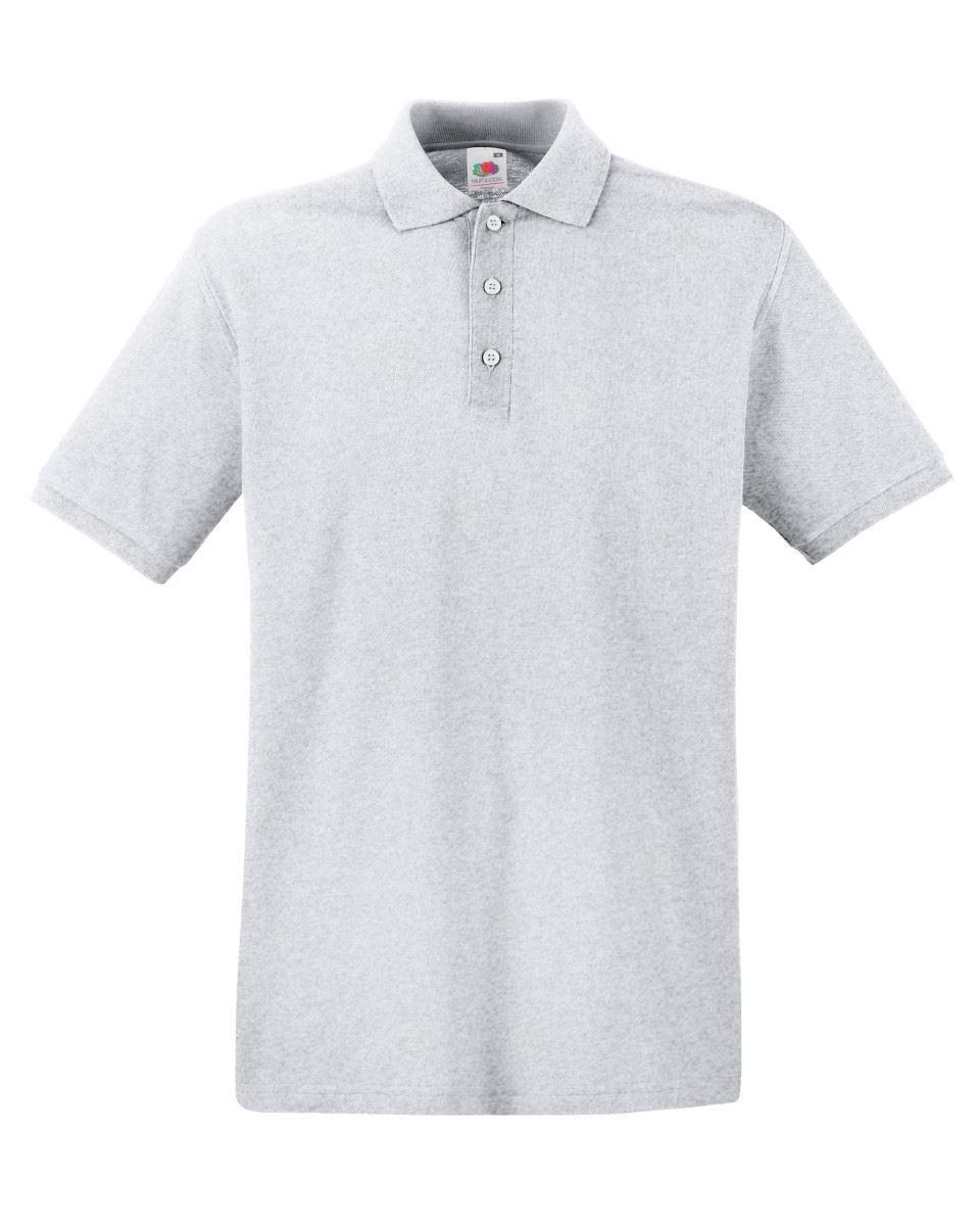 Mens-Polo-Shirts-Fruit-of-the-Loom-Premium-Polo-100-Cotton-Polo-Shirt-SS255 thumbnail 20