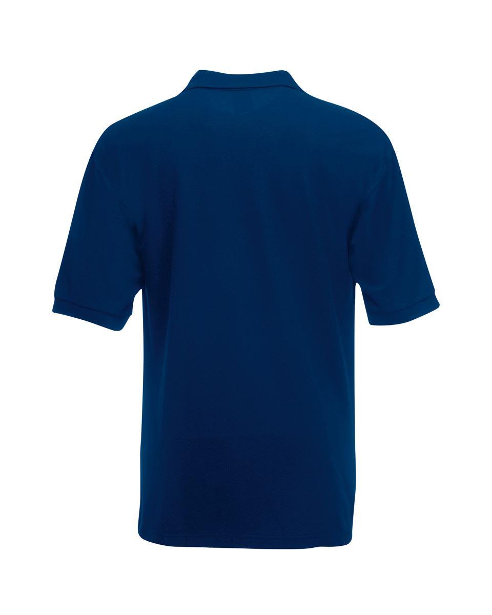 Fruit-of-the-Loom-Plain-Cotton-Mens-Polo-Shirts-T-Shirt-Short-Sleeve-Tshirt thumbnail 17