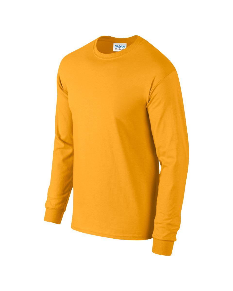 Gildan-Mens-Ultra-Cotton-Adult-Long-Sleeve-Plain-T-Shirt-Tshirt-Cotton-Tee-Shirt thumbnail 71
