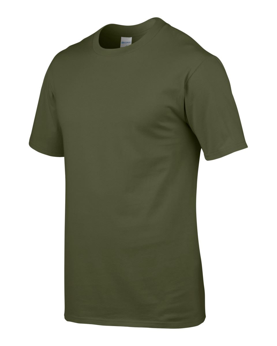3-Pack-Gildan-Hommes-Femmes-Premium-Softstyle-Ringspun-Plain-T-shirt-en-coton-tee miniature 65