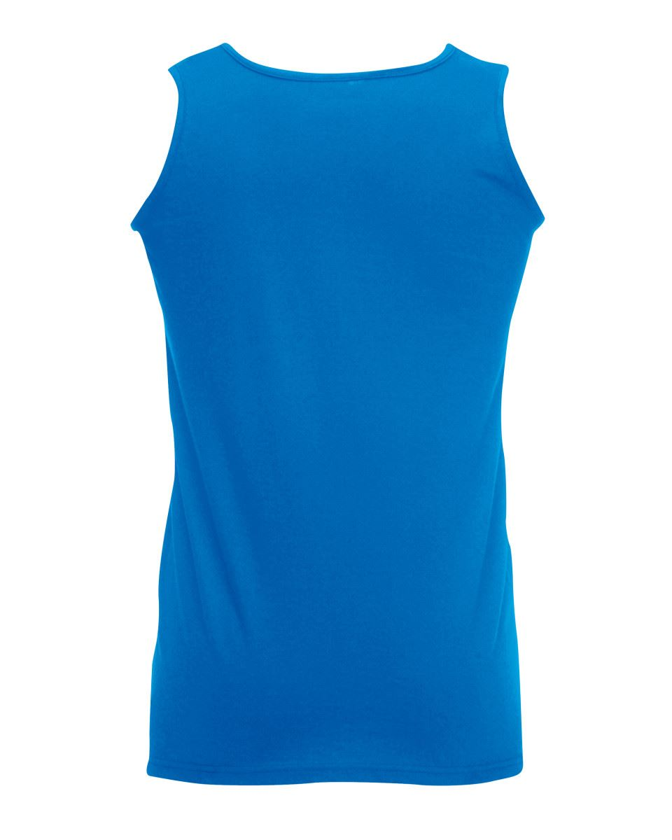 Fruit-of-the-Loom-Plain-Mens-Tank-Tops-Athletic-Vest-Gym-Training-Sports-T-Shirt thumbnail 11