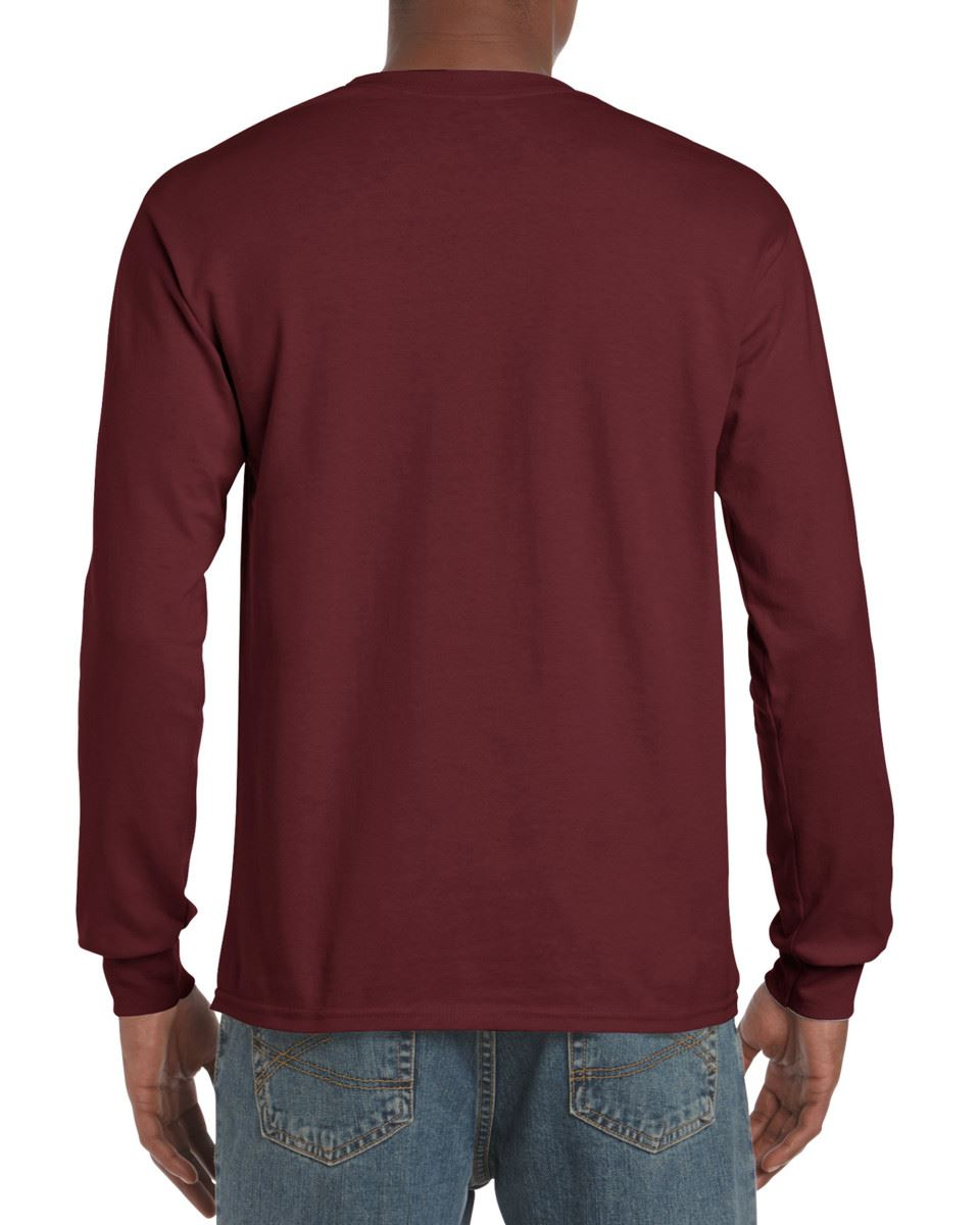 Gildan-Mens-Ultra-Cotton-Adult-Long-Sleeve-Plain-T-Shirt-Tshirt-Cotton-Tee-Shirt thumbnail 89