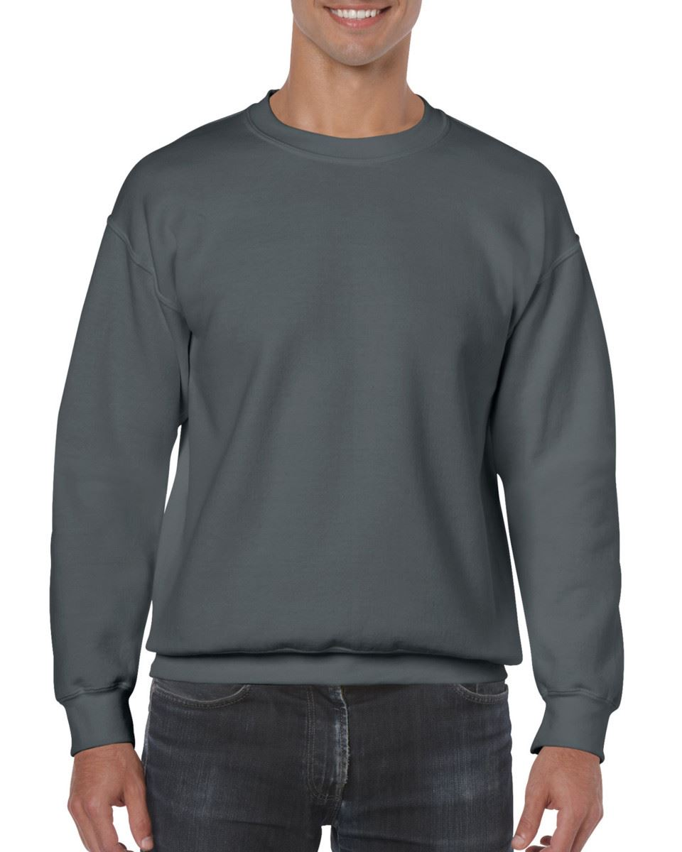 Gildan-Heavy-Blend-Adult-Crew-Neck-Pullover-Sweatshirt-Sweater-Workwear-Uniform thumbnail 50