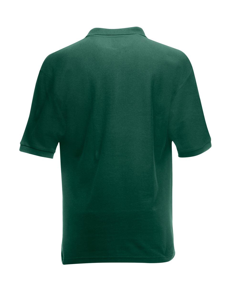 Mens-Polo-Shirts-Fruit-of-the-Loom-Premium-Polo-100-Cotton-Polo-Shirt-SS255 thumbnail 17