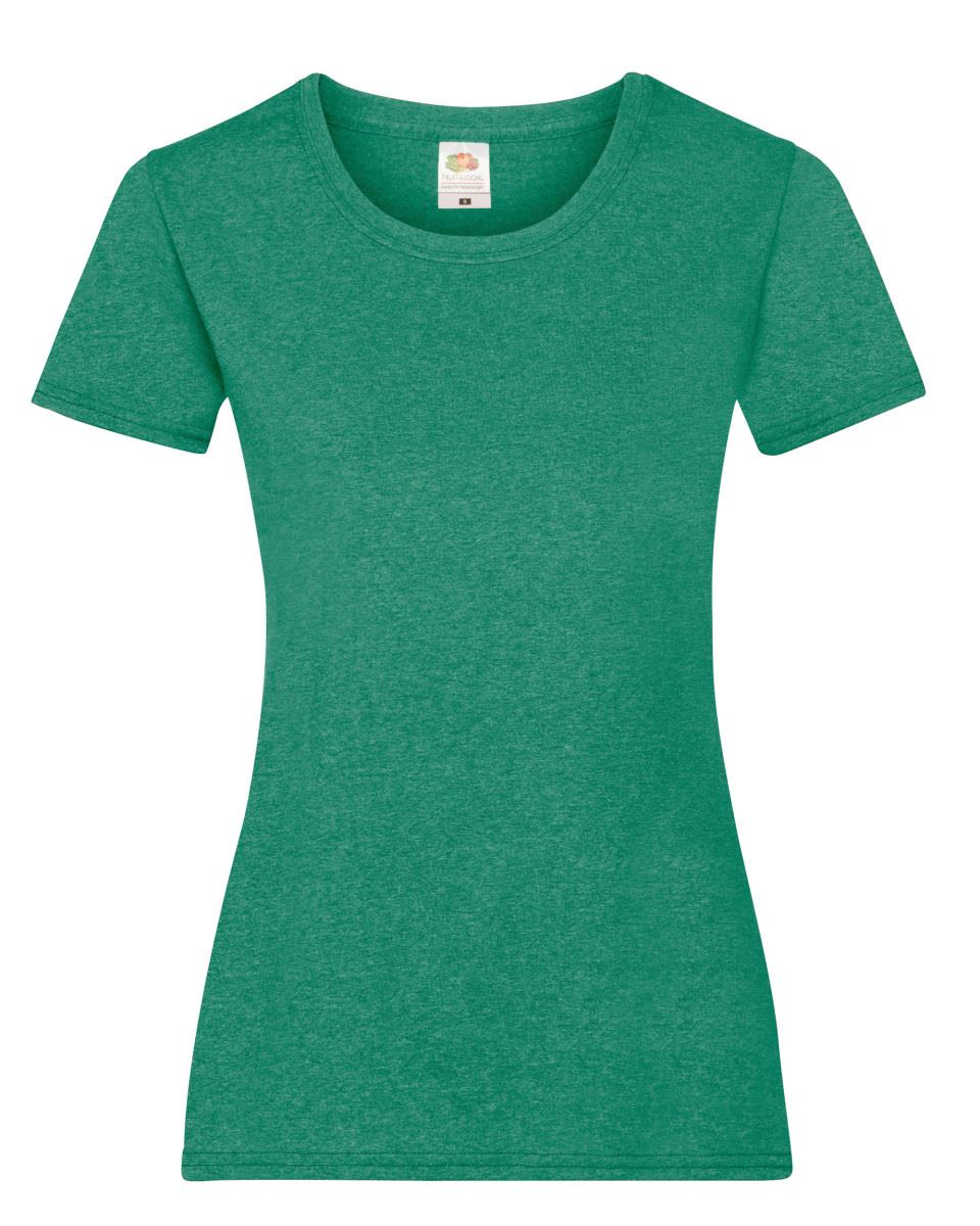 Fruit-of-the-Loom-Womens-Lady-Fit-T-Shirt-Valueweight-Plain-Blank-T-Shirt-Top thumbnail 34
