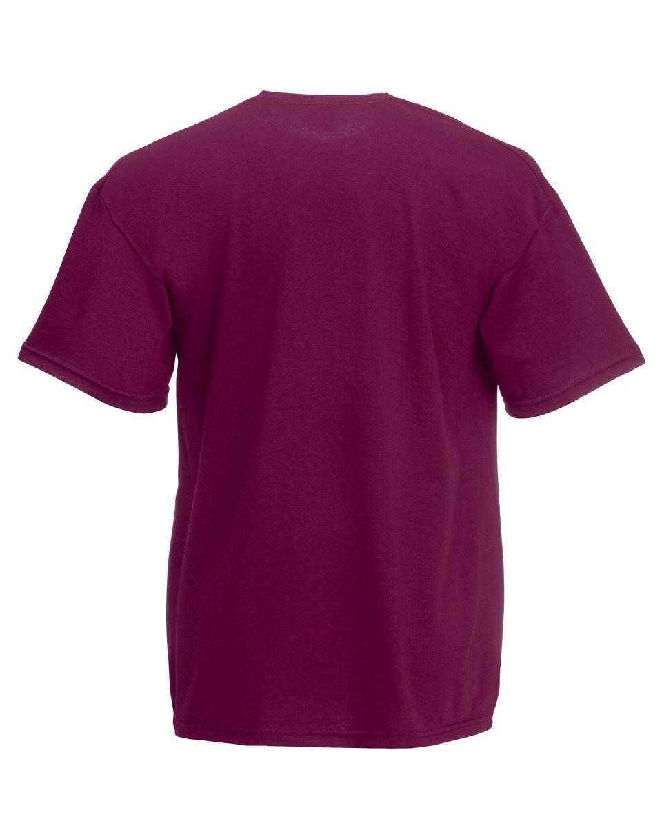 5-Pack-Men-039-s-Fruit-of-the-Loom-Plain-100-Cotton-Blank-Tee-Shirt-Tshirt-T-Shirt thumbnail 75