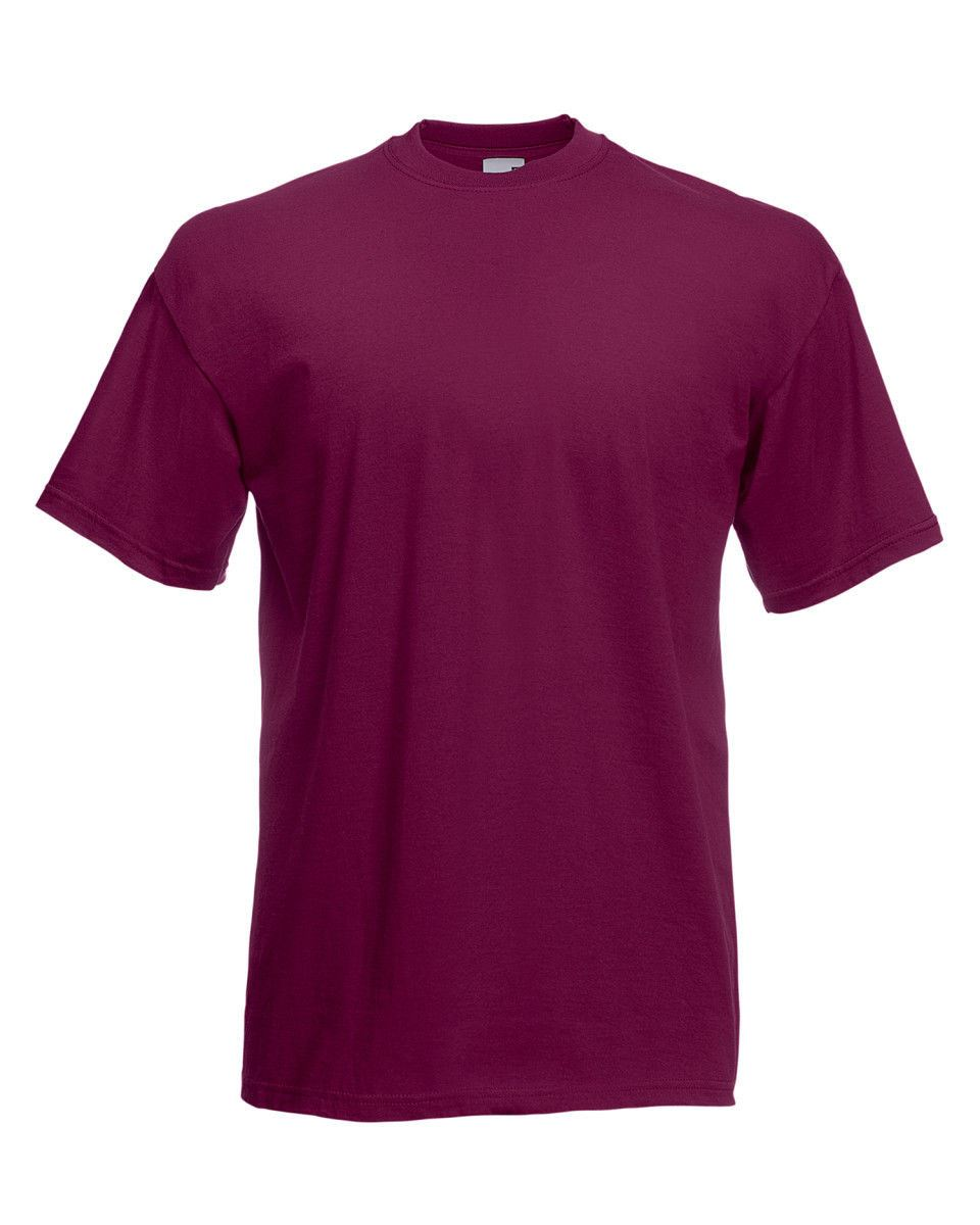 Fruit-Of-The-Loom-Mens-Womens-Valueweight-Plain-Crew-Neck-T-Shirt-Tee-Cotton thumbnail 44