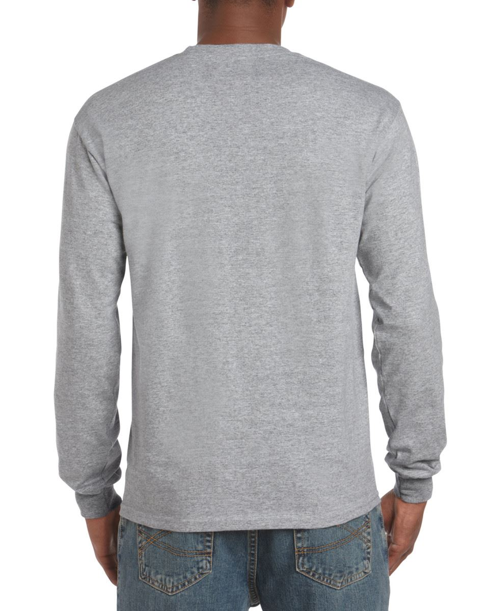 Gildan-Mens-Ultra-Cotton-Adult-Long-Sleeve-Plain-T-Shirt-Tshirt-Cotton-Tee-Shirt thumbnail 14