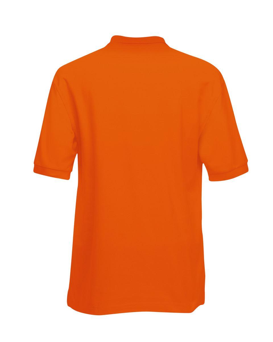 Mens-Polo-Shirts-Fruit-of-the-Loom-Premium-Polo-100-Cotton-Polo-Shirt-SS255 thumbnail 35