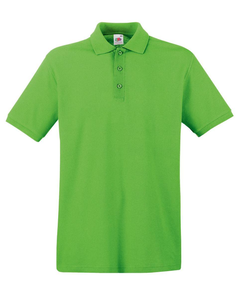 Mens-Polo-Shirts-Fruit-of-the-Loom-Premium-Polo-100-Cotton-Polo-Shirt-SS255 thumbnail 30
