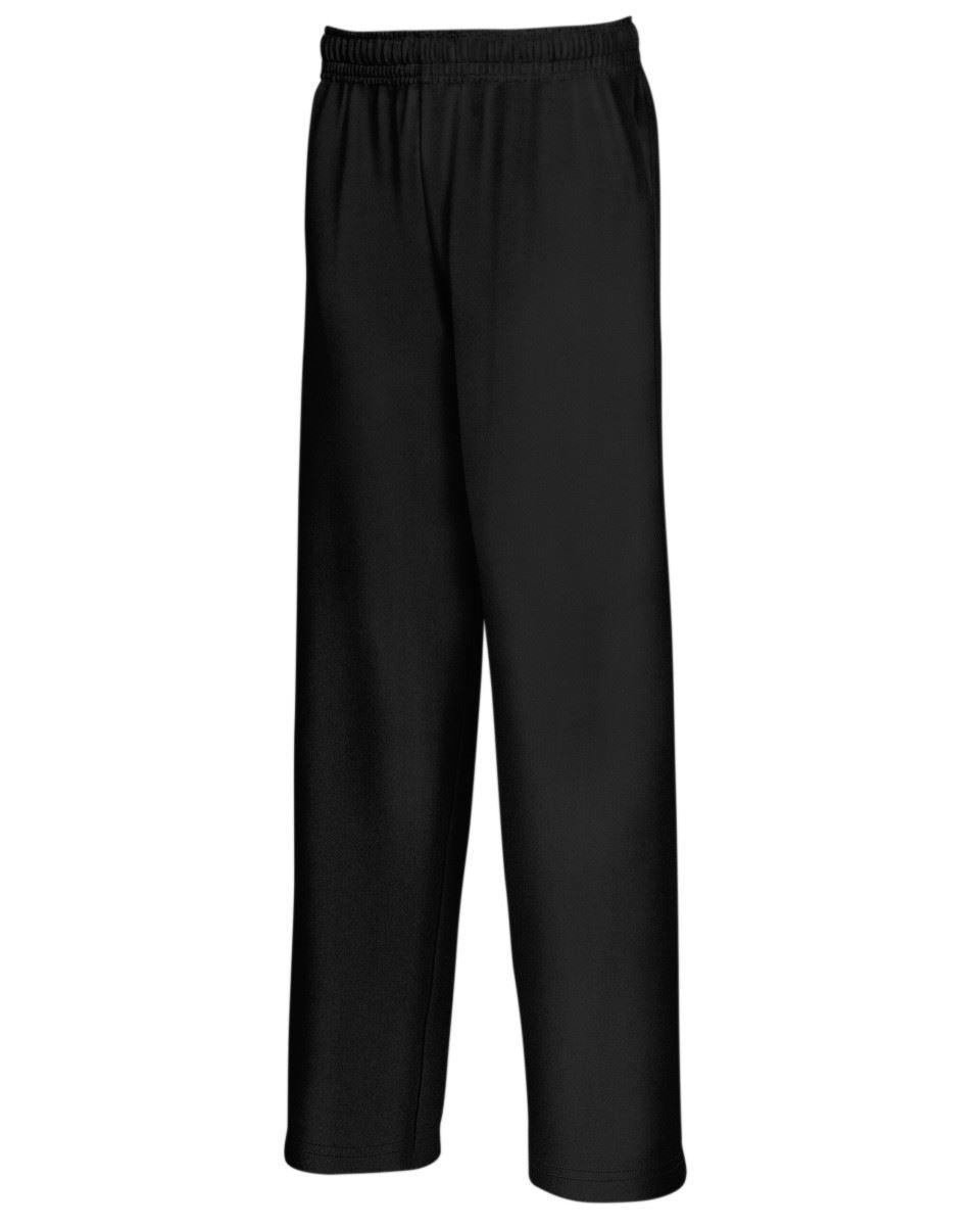 Fruit-of-the-Loom-Men-039-s-Lightweight-Open-Hem-Jog-Pants-Casual-Sweatpants-Bottoms thumbnail 2