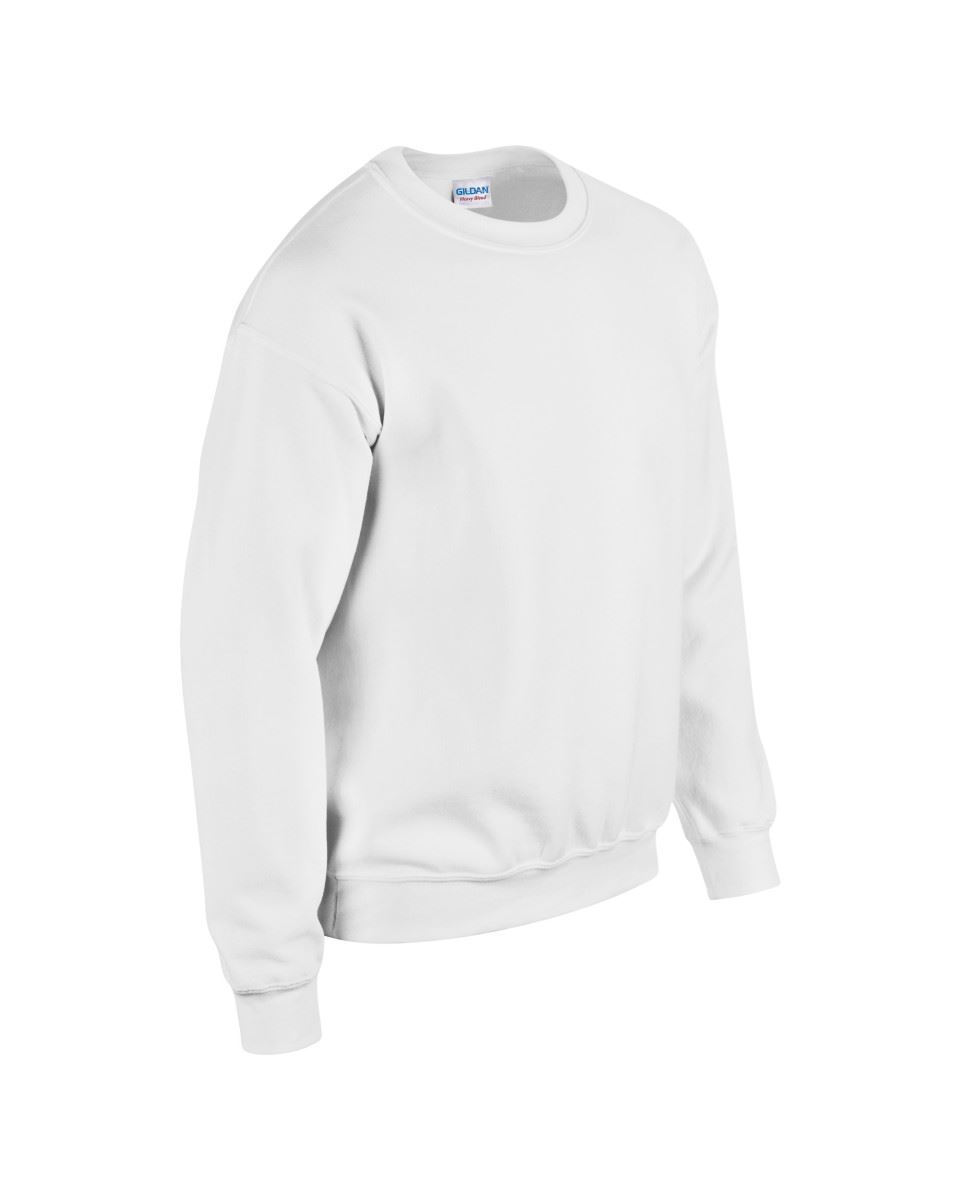Gildan-Heavy-Blend-Adult-Crew-Neck-Pullover-Sweatshirt-Sweater-Workwear-Uniform thumbnail 6