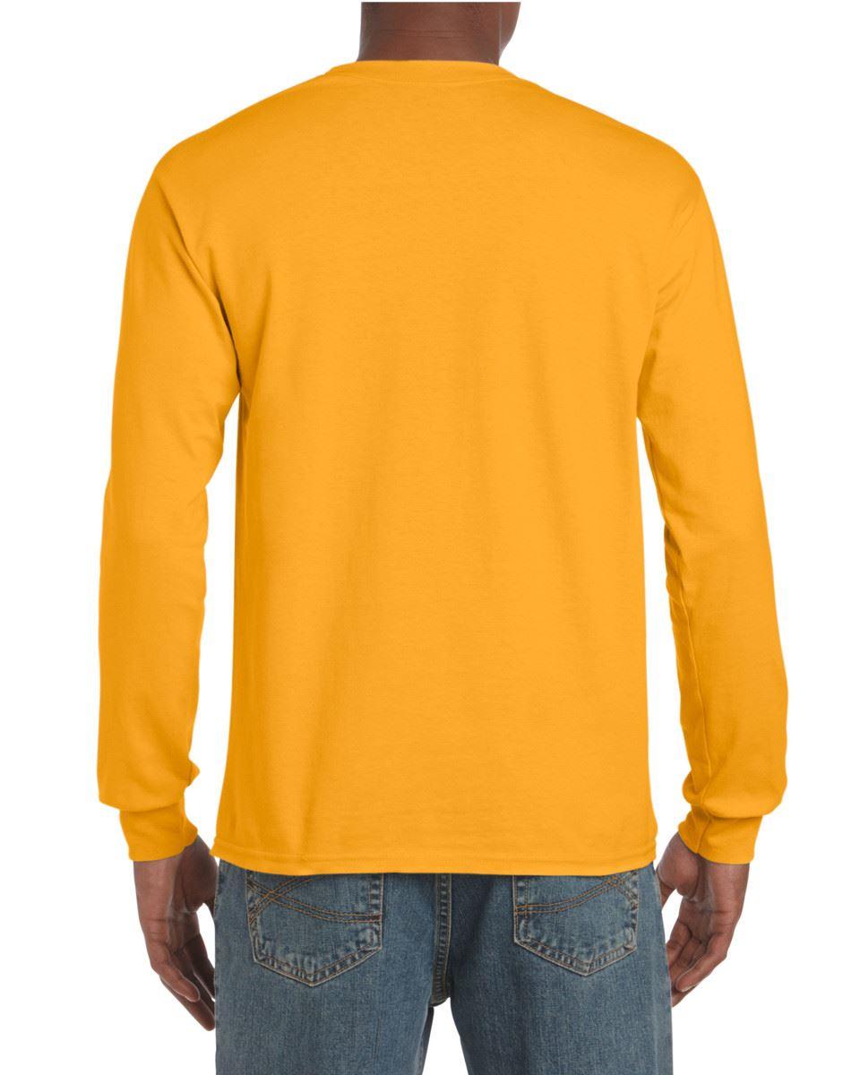 Gildan-Mens-Ultra-Cotton-Adult-Long-Sleeve-Plain-T-Shirt-Tshirt-Cotton-Tee-Shirt thumbnail 69