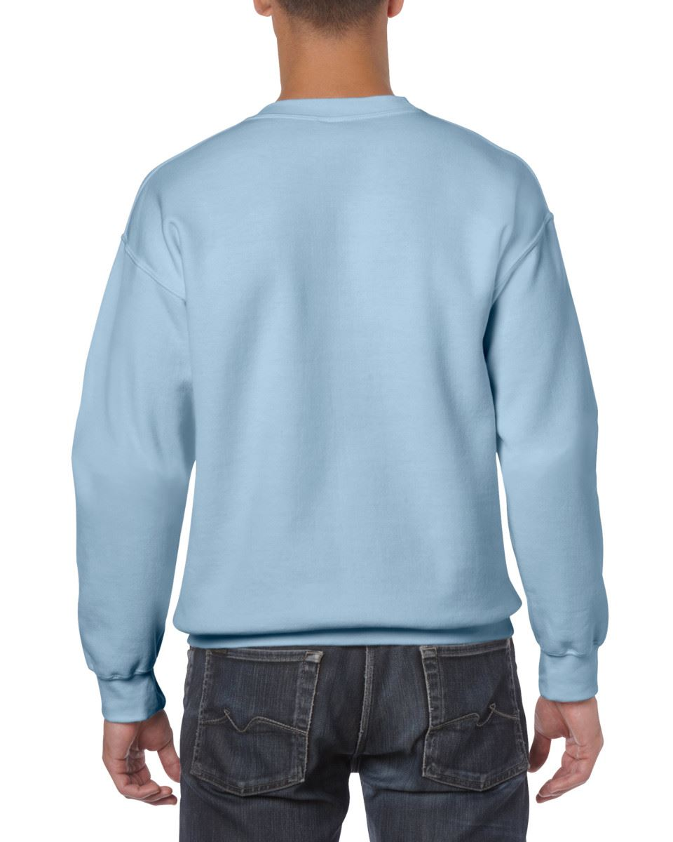 Gildan-Heavy-Blend-Adult-Crew-Neck-Pullover-Sweatshirt-Sweater-Workwear-Uniform thumbnail 108