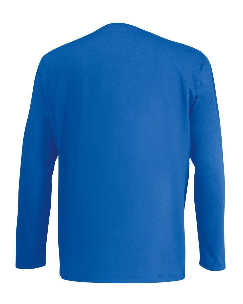 3-Pack-Men-039-s-Fruit-of-the-Loom-Long-Sleeve-T-Shirt-Plain-Tee-Shirt-Top-Cotton thumbnail 91