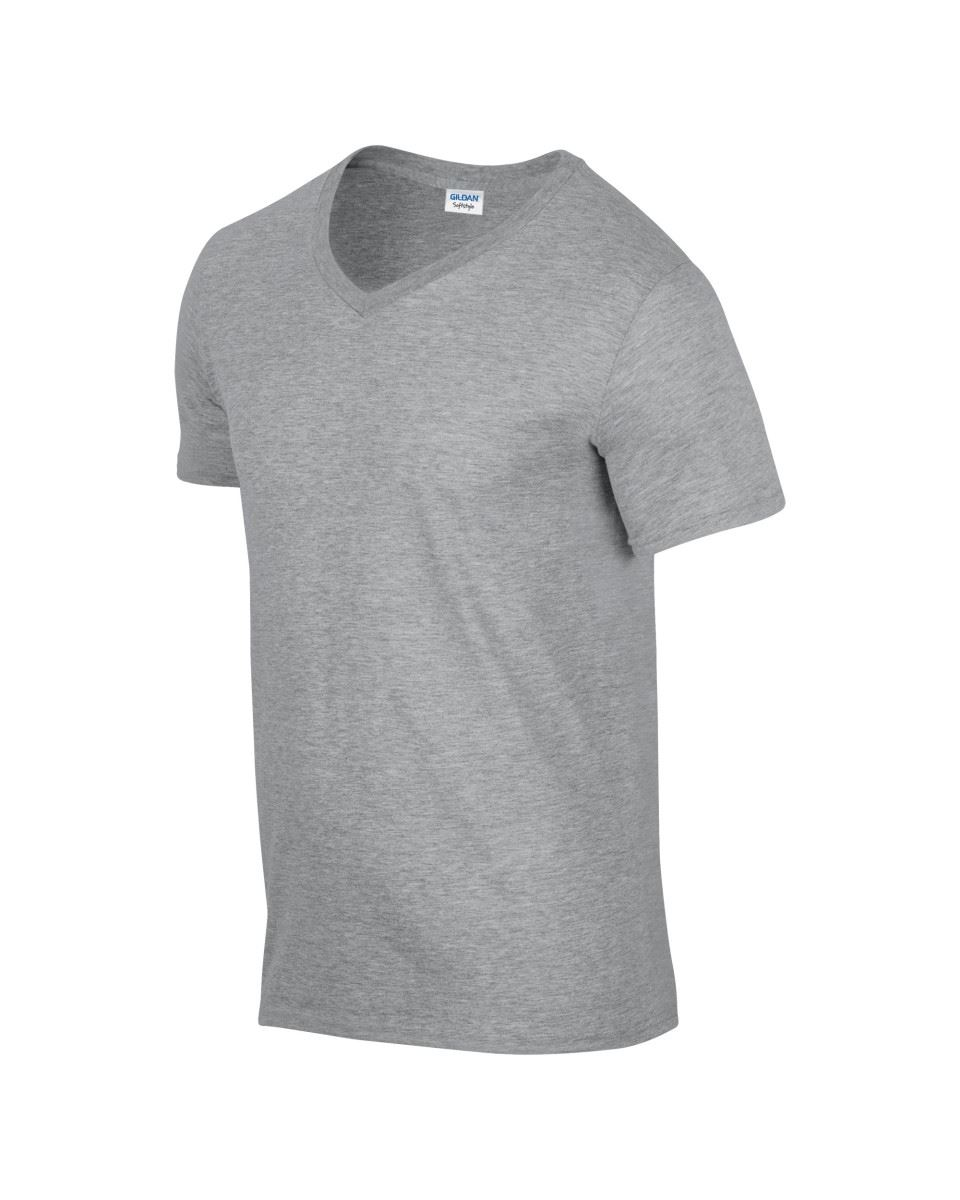 Gildan-Mens-Men-039-s-Soft-Style-Plain-V-Neck-T-Shirt-Cotton-Tee-Tshirt thumbnail 62
