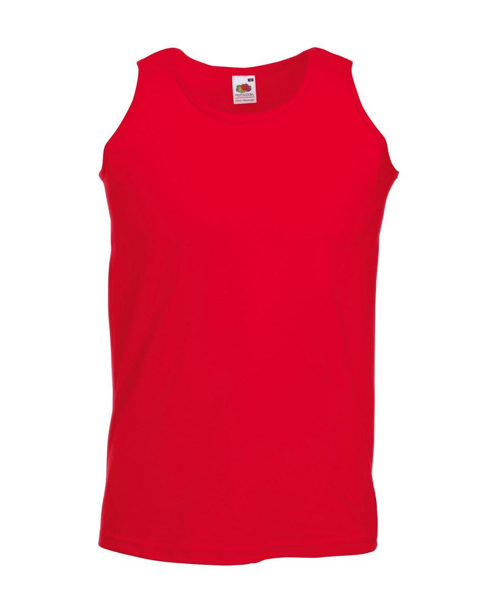 Fruit-of-the-Loom-Plain-Mens-Tank-Tops-Athletic-Vest-Gym-Training-Sports-T-Shirt thumbnail 10