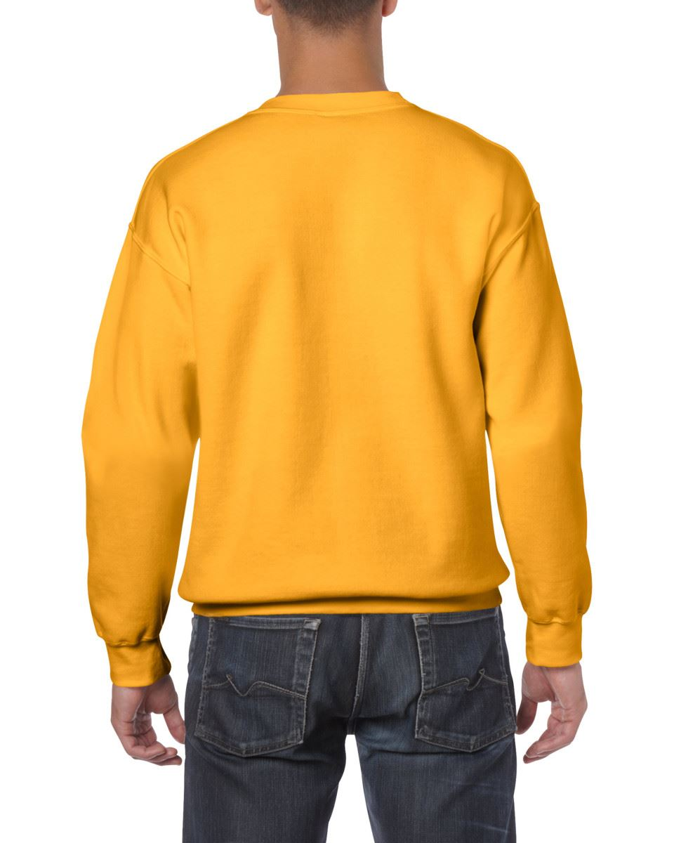 Gildan-Heavy-Blend-Adult-Crew-Neck-Pullover-Sweatshirt-Sweater-Workwear-Uniform thumbnail 78