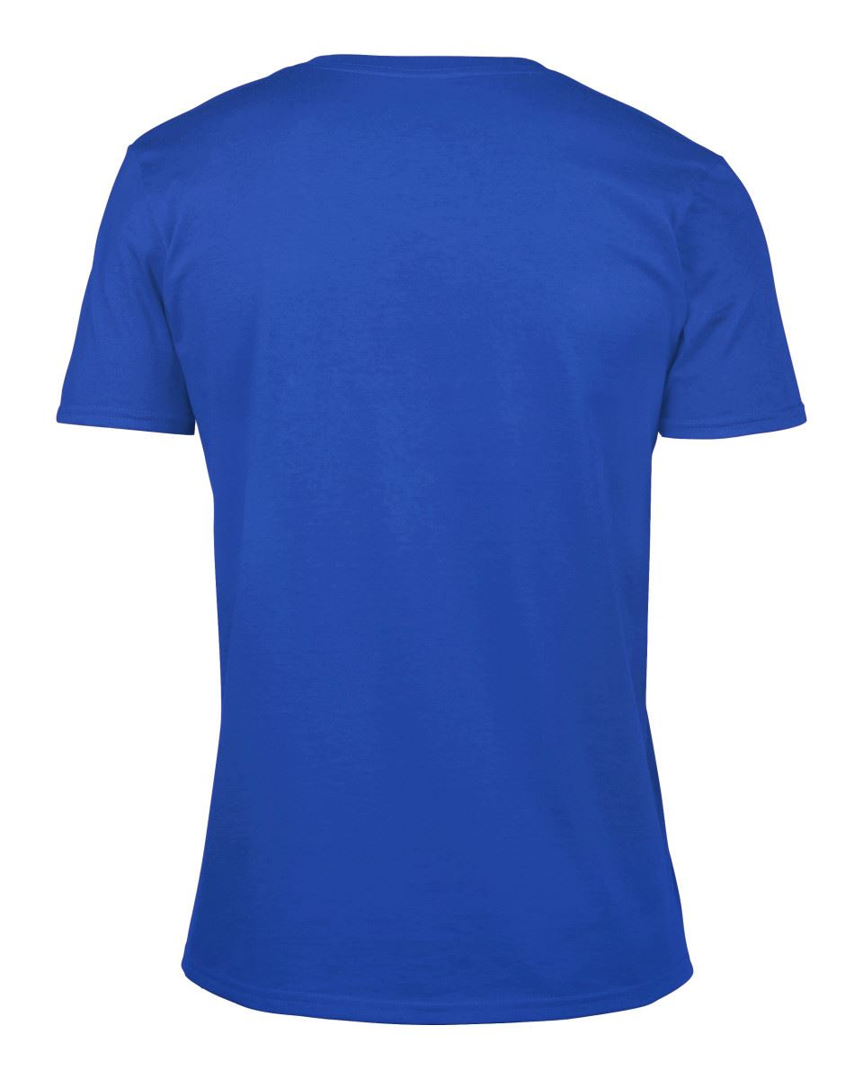 Gildan-Mens-Men-039-s-Soft-Style-Plain-V-Neck-T-Shirt-Cotton-Tee-Tshirt thumbnail 56