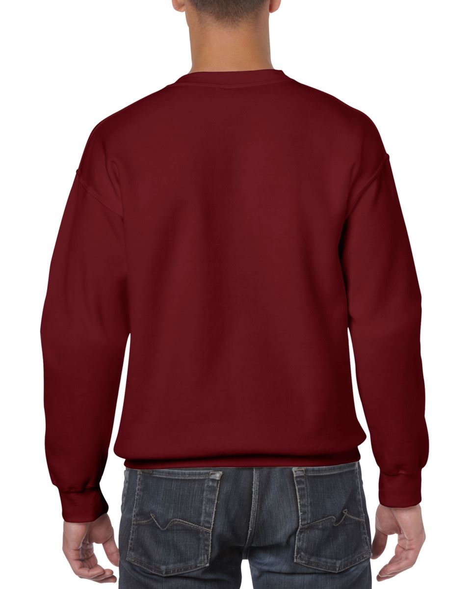 Gildan-Heavy-Blend-Adult-Crew-Neck-Pullover-Sweatshirt-Sweater-Workwear-Uniform thumbnail 76