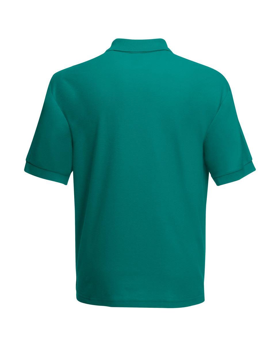 Fruit-of-the-Loom-Plain-Cotton-Mens-Polo-Shirts-T-Shirt-Short-Sleeve-Tshirt thumbnail 11